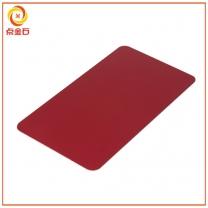 冲压拉丝铝片氧化红色