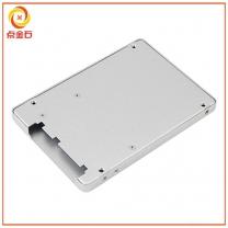 SSD外壳冲压 铝合金外壳冲压 移动硬盘外壳