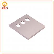 CNC开关面板 铝合金开关面板 智能开关面板