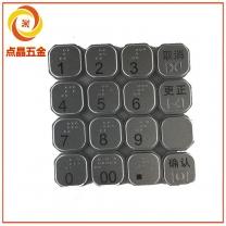 金属键盘CNC加工,铝合金键盘加工,铝合金键盘CNC定制,键盘锣生产厂