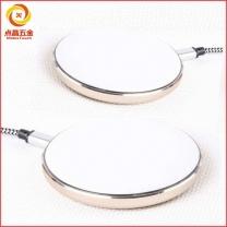 超薄铝合金无线充外壳定制  铝合金快充无线充外壳定制